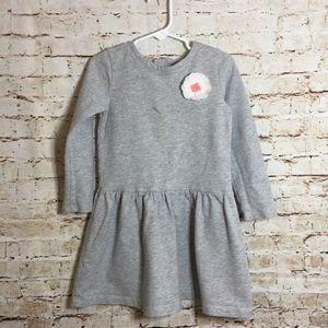 Carter's Girls Flower Jersey Cotton Dress